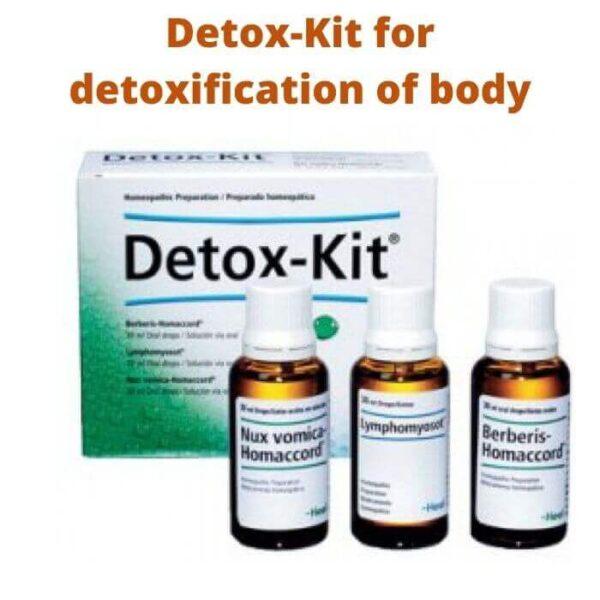 Detox-Kit for detoxification of body