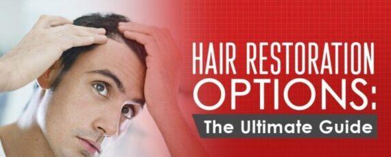 Hair restoration PRP option ultimate guide