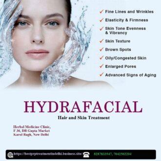 HydraFacial Treatment in Karol Bagh, New Delhi