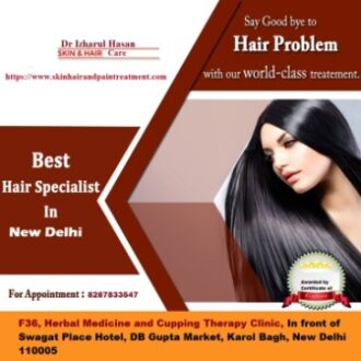 Best Place for Hair Fall Treatment in Delhi
